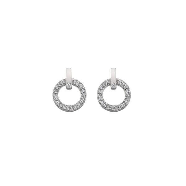 Constant Circle Earrings Hot Diamonds Jewellery