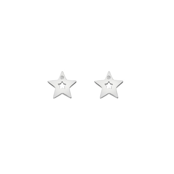 Diamond Amulet Star Earrings | Hot Diamonds Jewellery