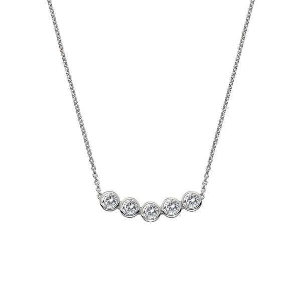Tender White Topaz Necklace Hot Diamonds Jewellery