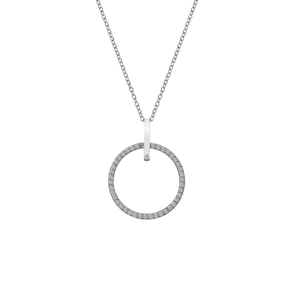 Constant Circle 25mm Pendant Hot Diamonds Jewellery