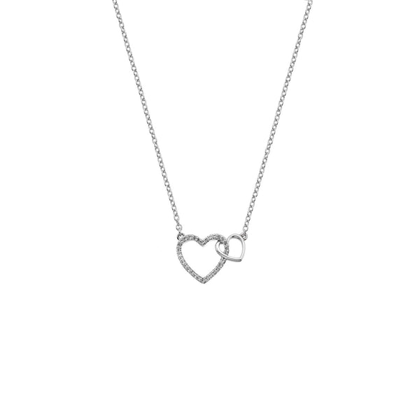 Togetherness Open Heart Pendant Hot Diamonds Jewellery