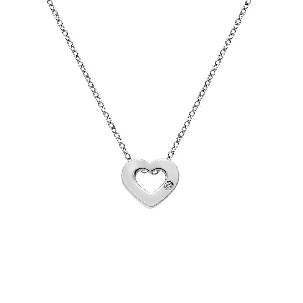 Diamond Amulet Heart Pendant Hot Diamonds Jewellery