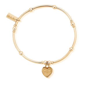 Mini Noodle Ball Tri-Heart Bracelet