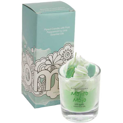 Mojito Mojo Piped Candle Bomb Cosmetics