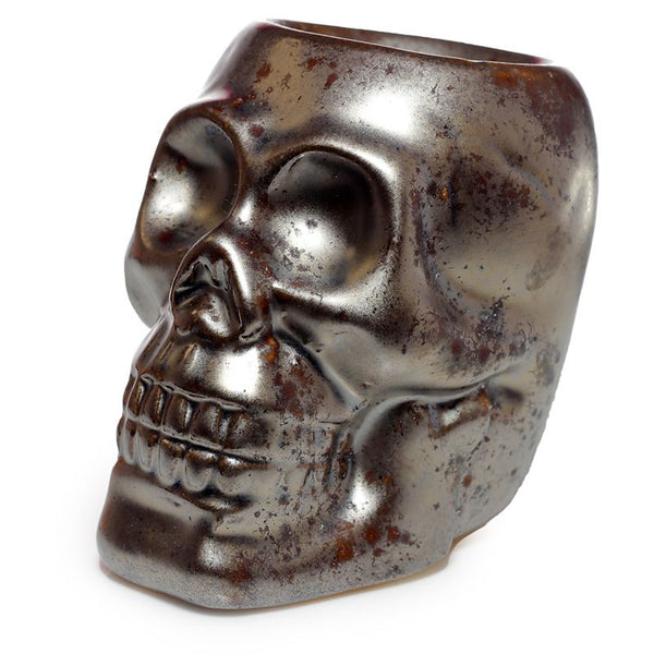 Eden Mini Ceramic Skull - Bronze
