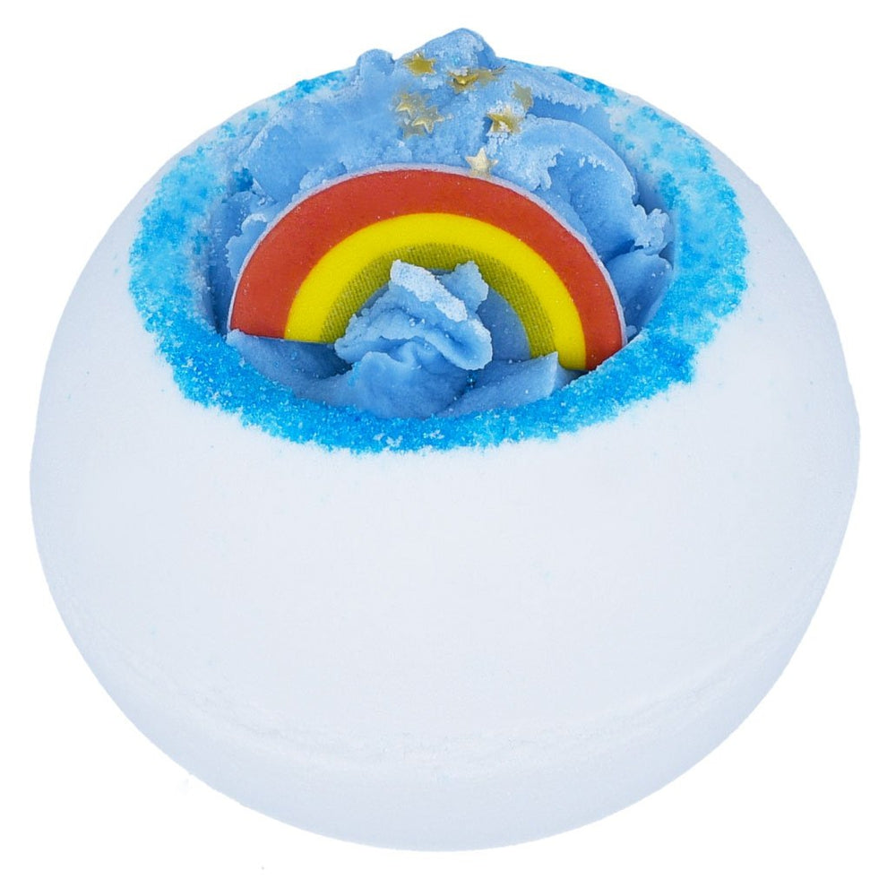 OVer the rainbow bath blaster bomb cosmetics