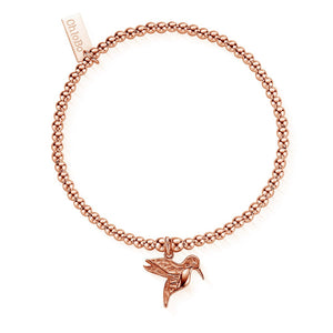 Cute Charm Hummingbird bracelet Chlobo Rose Gold