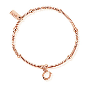 Cute Mini Horseshoe Bracelet Rose Gold Chlobo