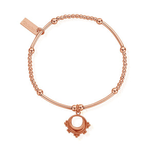 Cute Mini Moon and Star Bracelet Chlobo Rose Gold