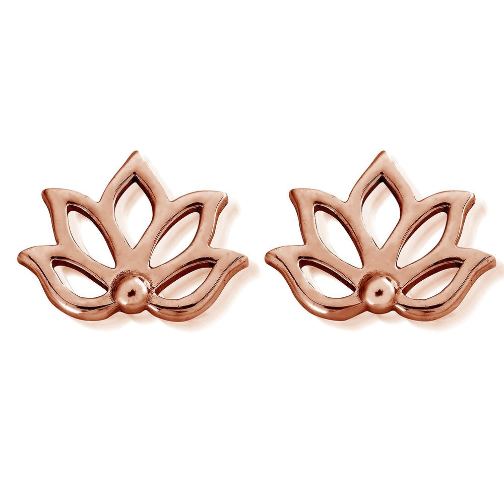 Stud Lotus Earrings