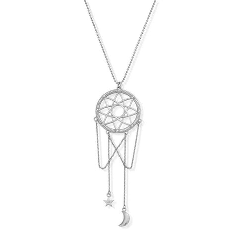 Silver Chlobo Dream Catcher Necklace
