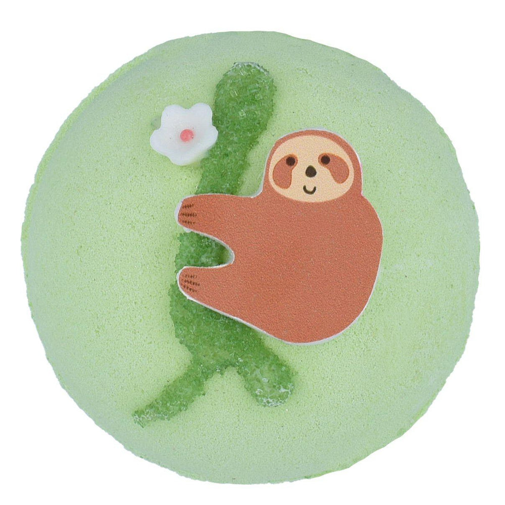 Sloth me up Kiwi Bath Blaster Bomb Cosmetics