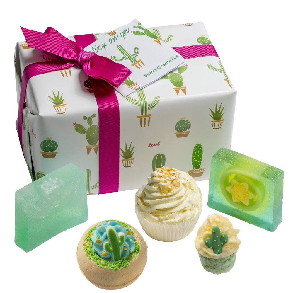 Stuck On You Bath Gift Box Cactus