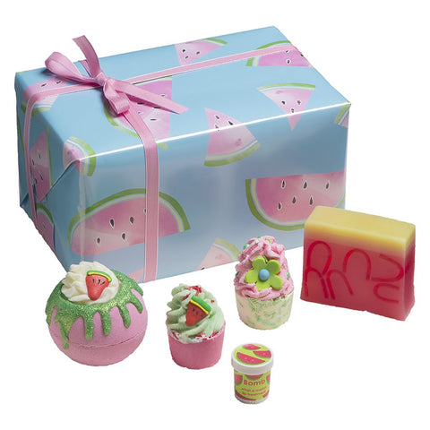 Thanks A Melon Bath Gift Box Bomb Cosmetics