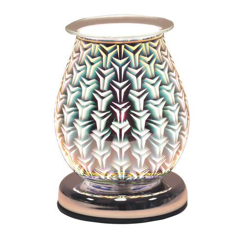 Tri Star 3D Oval Electric Wax Melt Burner