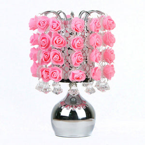 Hanging Pink Roses Aroma Touch Lamp.