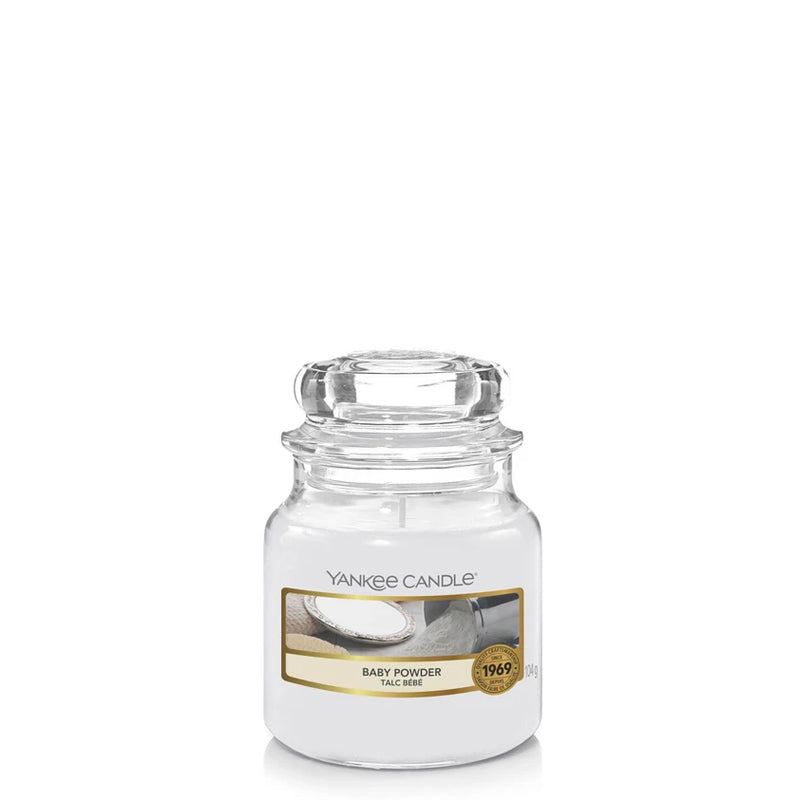 Baby Powder Small Jar Yankee Candle