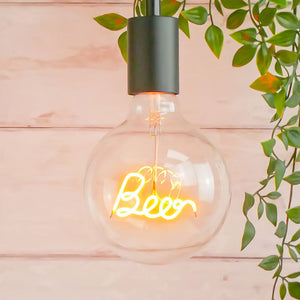 Beer LED Light Filament Bulb Steepletone