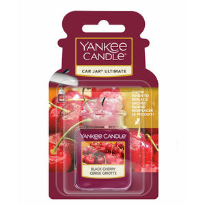 Black Cherry Car Jar Ultimate Yankee Candle
