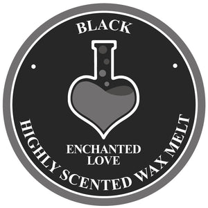 Black Soy Wax Melt Enchanted Love