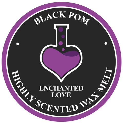 Black Pom Enchanted Love Soy Wax Melt