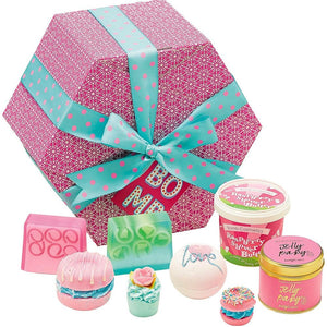 The Bomb Hat Box Bath Gift Box