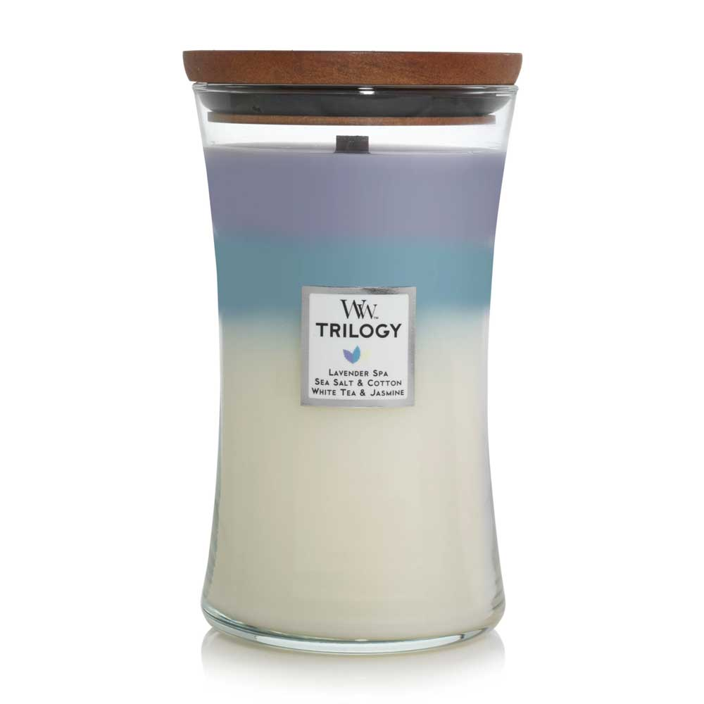 Calming Retreat Woodwick Large Jar Trilogy
