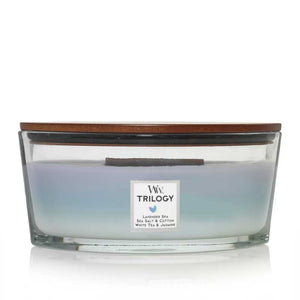 Calming Retreat Woodwick Ellipse Jar