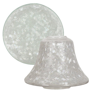 Sugar Coat Candle Shade & Plate Accessory