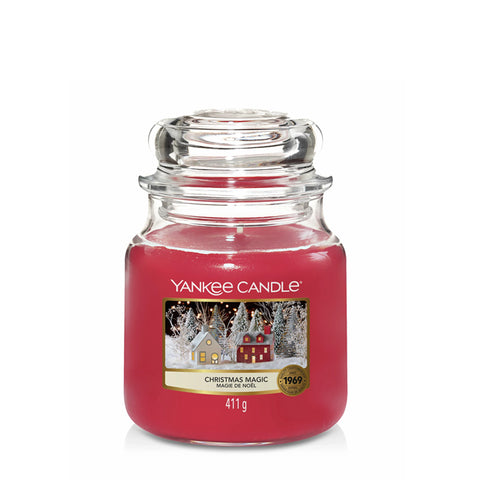 Christmas Magic Medium Jar Yankee