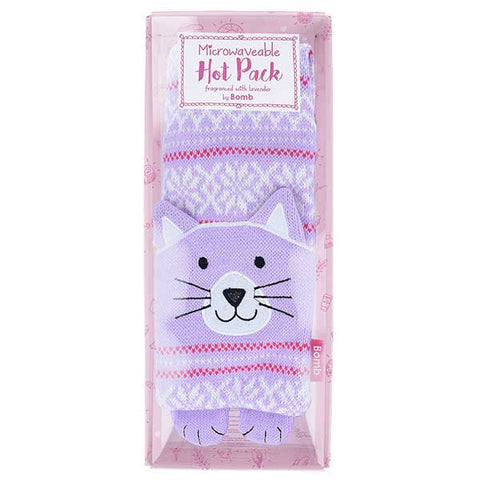 Clarissa the Cat Neck Warmer Microwaveable Heat Pack