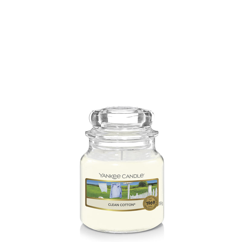 Clean Cotton Small Jar Yankee Candle