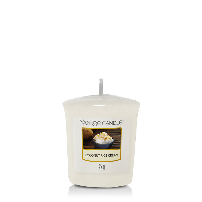Coconut Rice Cream, Votive Candles, Yankee Candle