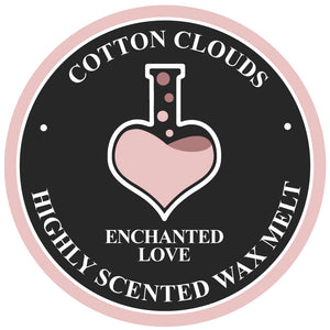 Cotton Clouds Enchanted Love Soy Wax Melt