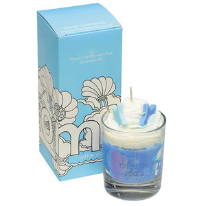 Cotton Clouds Piped Candle Bomb Cosmetics