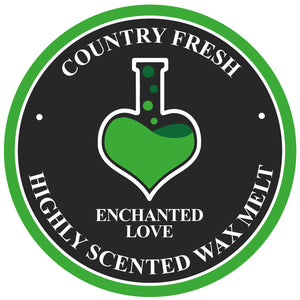 Country Fresh Soy Wax Melt Enchanted Love