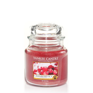 Cranberry Ice Medium Jar Yankee Candle