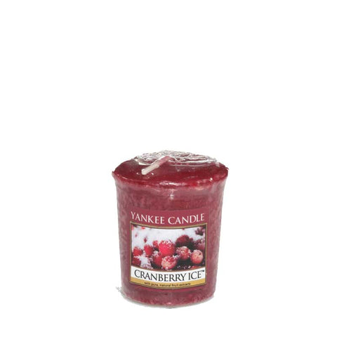 Cranberry Ice Yankee Votive
