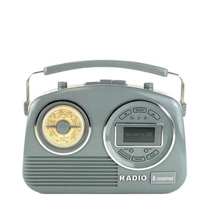 Devon - Grey Retro Radio DAB Steepletone