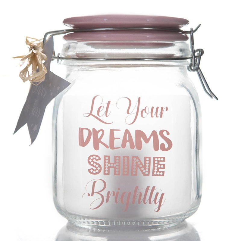 Let Your Dreams Shine Stars in Jars