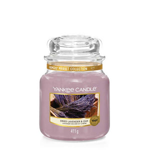 Dried Lavender & Oak Medium Jar Yankee Candle