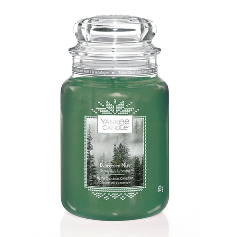 Evergreen Mist Large Jar Yankee