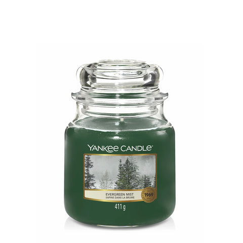 Evergreen Mist Medium Jar Yankee