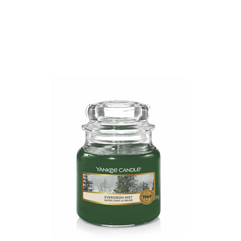 Evergreen Mist Small Jar Yankee Candle