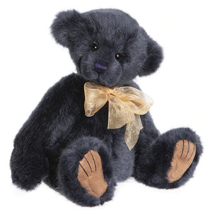 Finn Charlie Bears Navy Blue Teddy Bear