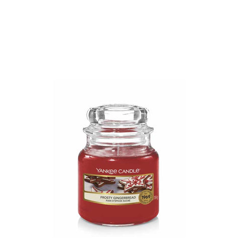 Frosty Gingerbread Small Jar Yankee