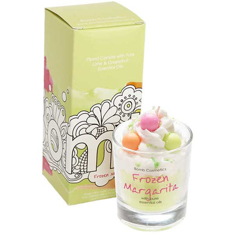 Frozen Margarita Piped Candle Bomb Cosmetics