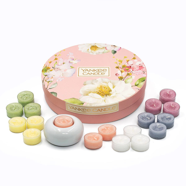 Garden Hideaway Tea Light Delight Yankee Candle Gift Box