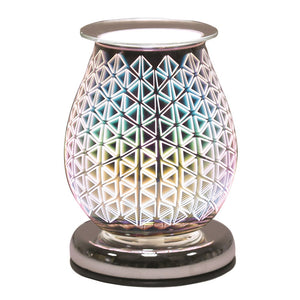 Oval 3D - Geo Triangle Electirc Wax Melt Burner