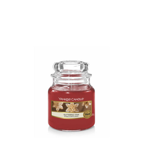 Glittering Star small yankee jar